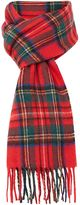 Howick Red Check Scarf