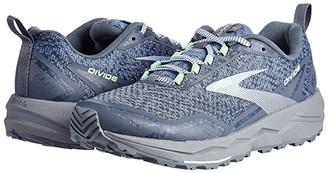 Brooks Divide (Grey/Turbulence/Green) Women's Running Shoes
