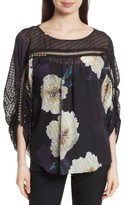Tracy Reese Women's Silk Blossom Blouse