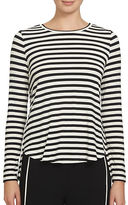 1 State Crossback Striped Top