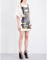 Moschino Dress-print cotton-jersey T-shirt dress