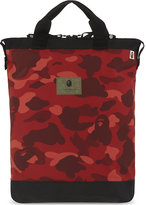 A Bathing Ape Camouflage Print Two Way Backpack