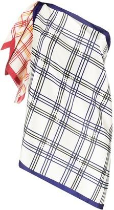 Jejia asymmetric tunic top