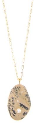 Cvc Stones Staccato Diamond & 18kt Gold Necklace - Multi