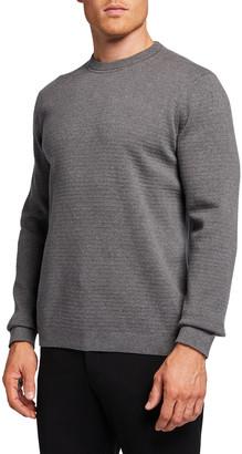 Theory Men's Breach Stone Crewneck Sweater