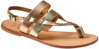 Joie | a la Plage Positano Metallic Sandal