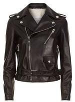 Valentino Leather Motorcycle Jacket