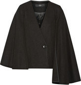 Tibi Quecha felted wool-blend cape