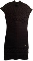 Versace Black Wool Dress for Women