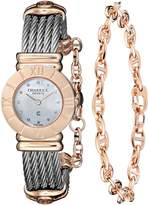 Charriol Women's 028RP540326 St Tropez Analog Display Swiss Quartz Silver Watch