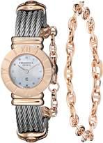 Charriol Women's 028RP540326 St Tropez Analog Display Swiss Quartz Silver Watch