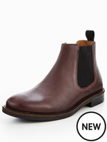 Kurt Geiger Perth Embossed Leather Chelsea Boot