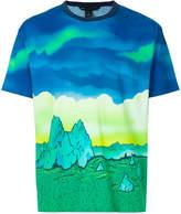 Marc Jacobs sky print T-shirt