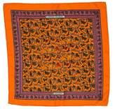 Hermes Chasse En Inde Pocket Square