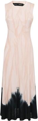 Proenza Schouler Tie Dye Print Dress
