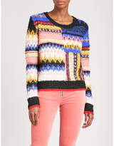 Free People Best day ever striped knitted jumper