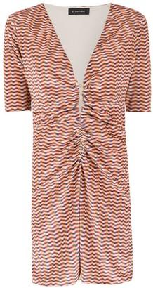 Olympiah printed Hunus dress