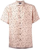 Lanvin footstep print shirt - men - Silk - 46