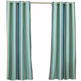 Asstd National Brand Parasol Windley Key Stripe Indoor/Outdoor Grommet-Top Curtain Panel