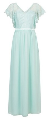 Dorothy Perkins Womens **Showcase Mint Green Chloe Maxi Dress, Green