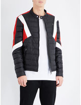 Neil Barrett Geometric Shell Bomber Jacket
