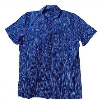 A.P.C. Blue Cotton Shirts