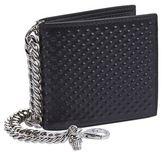 Alexander Mcqueen Textured Leather Bi-fold Wallet