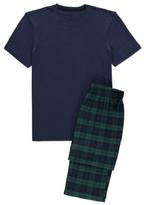 George Check Print Pyjama Gift Set