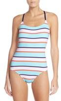Tommy Bahama Stripe One-Piece Swimsuit