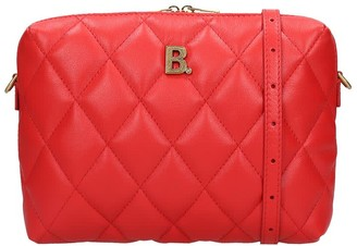 Balenciaga Touch Camera Ba Shoulder Bag In Red Leather