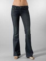 Topanga Jean with Flap Pocket in Onyx Wash