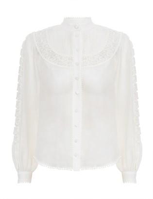 Zimmermann Super Eight Butterfly Shirt