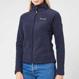 Superdry Women's Storm Urban Fleece Jacket - French Navy - UK 8