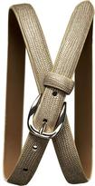 Shiny lizard belt