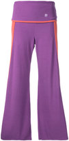 Theatre Products wide leg cropped trousers - women - Acrylic/Polyurethane/Rayon - One Size