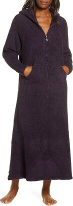 Barefoot Dreams CozyChic(R) Hooded Zip Robe