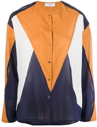 Roseanna Colour-Block Buttoned Shirt