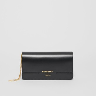 Burberry Leather Grace Clutch
