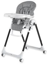 Peg Perego Prima Pappa Zero 3 High Chair in Gingham Black