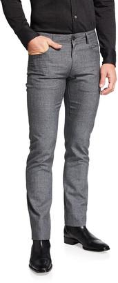 Canali Men's Slim Wool 5-Pocket Pants