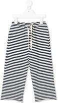 Touriste horizontal stripe trousers