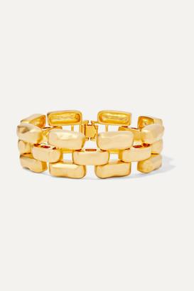 Kenneth Jay Lane Gold-tone Bracelet - one size