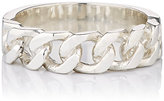 Loren Stewart Men's Fixed Curb-Chain Ring-SILVER