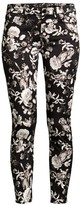 7 For All Mankind Jen7 By Floral-Print Ankle Skinny Jeans