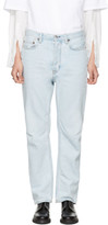 Acne Studios Blue Log Jeans