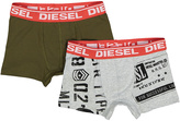 Diesel Green Boxer Brief Set - Toddler & Boys