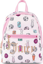 Juicy Couture Treats printed backpack