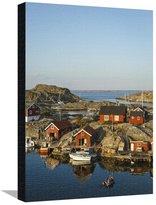 Art.com Vaderoarna (The Weather Islands) Archipelago, Bohuslan Region, West Coast, Sweden Stretched Canvas Print By Yadid Levy - 46x61 cm