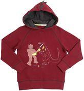 Billybandit Hooded Embellished Cotton Sweatshirt