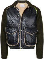 Kolor panelled jacket